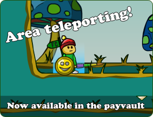 Area teleport available in the Payvault